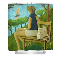 The Bluff Shower Curtain
