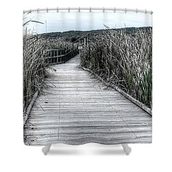 The Boardwalk Shower Curtain