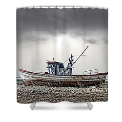 The Boat Shower Curtain