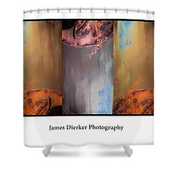 The Boat Shower Curtain by James Dierker