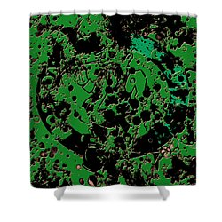 The Boston Celtics 6c Shower Curtain by Brian Reaves