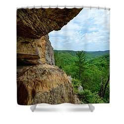 The Boulders Edge Shower Curtain