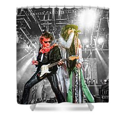 Shower Curtain featuring the photograph The Boys by Traci Cottingham