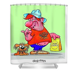 The Bozo Collection 4 Shower Curtain
