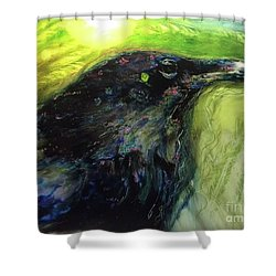 The Breath Of Winds Shower Curtain