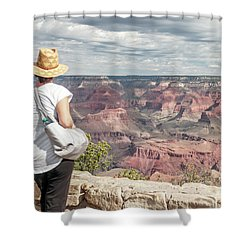The Breathtaking View Shower Curtain