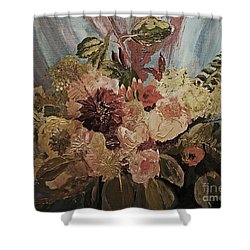 The Bridal Bouquet Shower Curtain