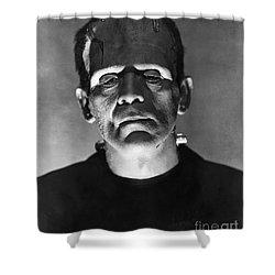 The Bride Of Frankenstein Shower Curtain