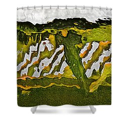 The Bridge - Me To You Shower Curtain