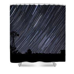 The Brighter They Shine Shower Curtain