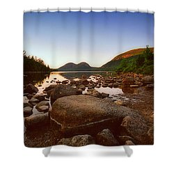 The Bubbles Shower Curtain by Joann Vitali