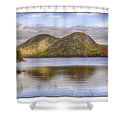 The Bubbles Shower Curtain by R Thomas Berner