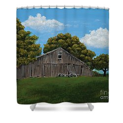 The Buggy Shed Shower Curtain