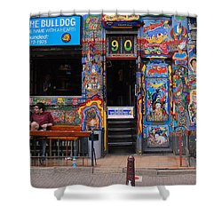 The Bulldog Of Amsterdam Shower Curtain