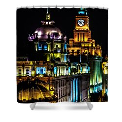 The Bund Shower Curtain