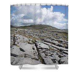 The Burren National Park Shower Curtain