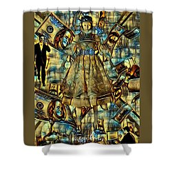 The Business Of Humans Shower Curtain