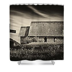 The Butter Church - 365-41 Shower Curtain by Inge Riis McDonald