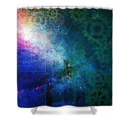 The Butterfly Effect Shower Curtain by Kenneth Armand Johnson