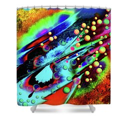 The Butterfly Effect Shower Curtain