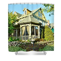 The Buttery Restaurant In Lewes Delaware Shower Curtain