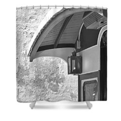 The Cable Car Nantucket Shower Curtain by Charles Harden
