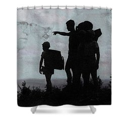 The Call Centennial Cover Image Shower Curtain