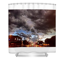 The Calm After The Storm Shower Curtain
