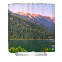 The Calm Shower Curtain by Elfriede Fulda