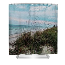 The Calming Place Shower Curtain