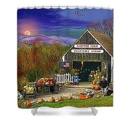 The Campton Farm Shower Curtain