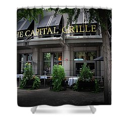 The Capital Grille Shower Curtain