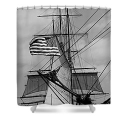 The Caravel Shower Curtain