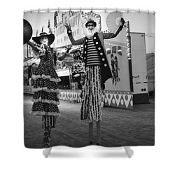 The Carnival Shower Curtain
