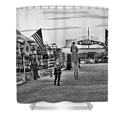 The Carnival Street Shower Curtain