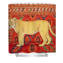 The Carpet Mouse Shower Curtain