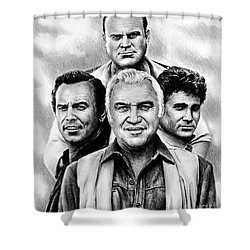 The Cartwrights Shower Curtain