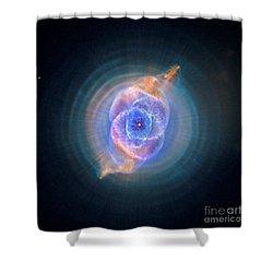 The Cat's Eye Nebula Shower Curtain