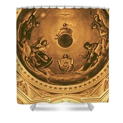 The Ceiling Of Notre Dame University Shower Curtain by Dan Sproul