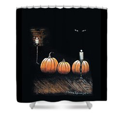 The Cellar Shower Curtain