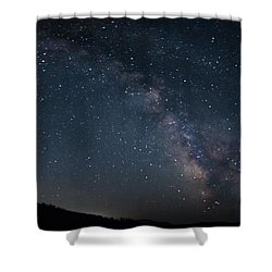 The Center Rising Shower Curtain