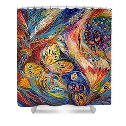 The Chagall Dreams Shower Curtain by Elena Kotliarker