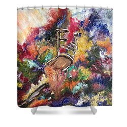 The Chair  Shower Curtain