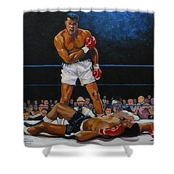 The Champ Shower Curtain