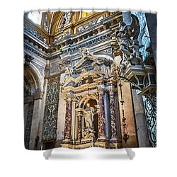 The Chapel Of Ignatius Of Loyola Shower Curtain