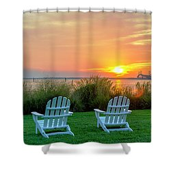 The Chesapeake Shower Curtain by Brian Wallace