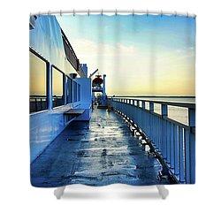 The Chi-cheemaun Shower Curtain