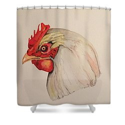 The Chicken Shower Curtain