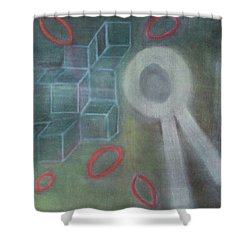 The Childish In One's Heart Shower Curtain