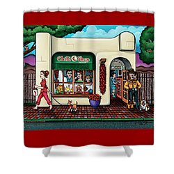 The Chile Shop Santa Fe Shower Curtain